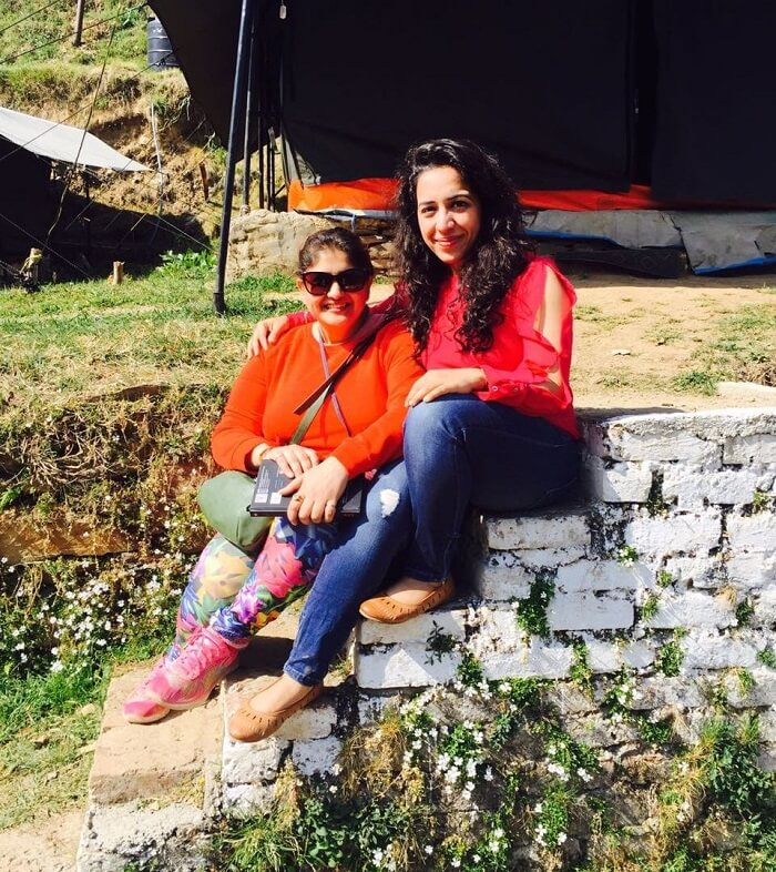 priha dhanaulti weekend trip: with a new friend