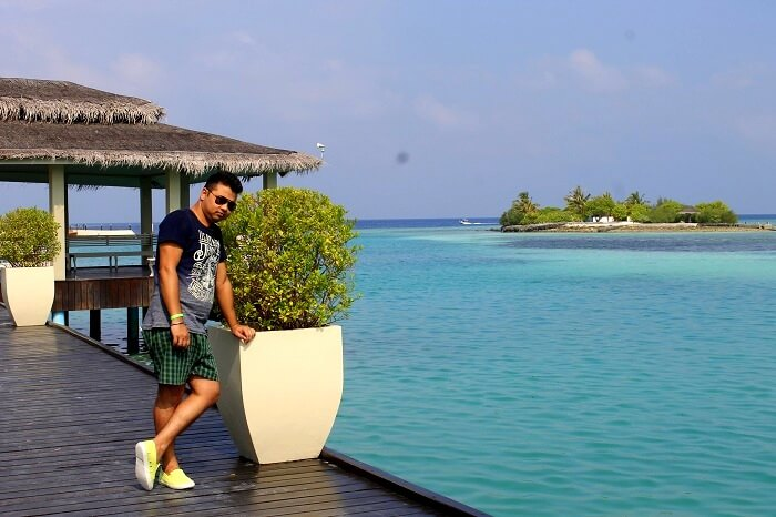 deeptis husband in maldives