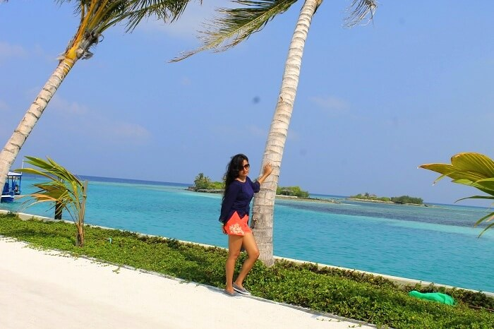 deepti in maldives