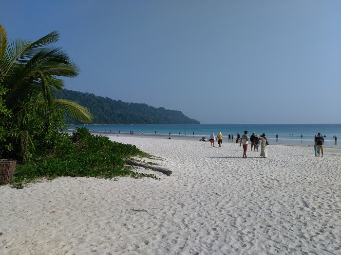beauty of radhanagar beach in andaman