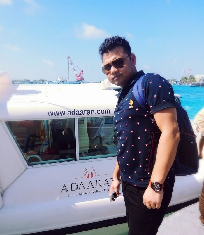 romantic trip to adaaran resort