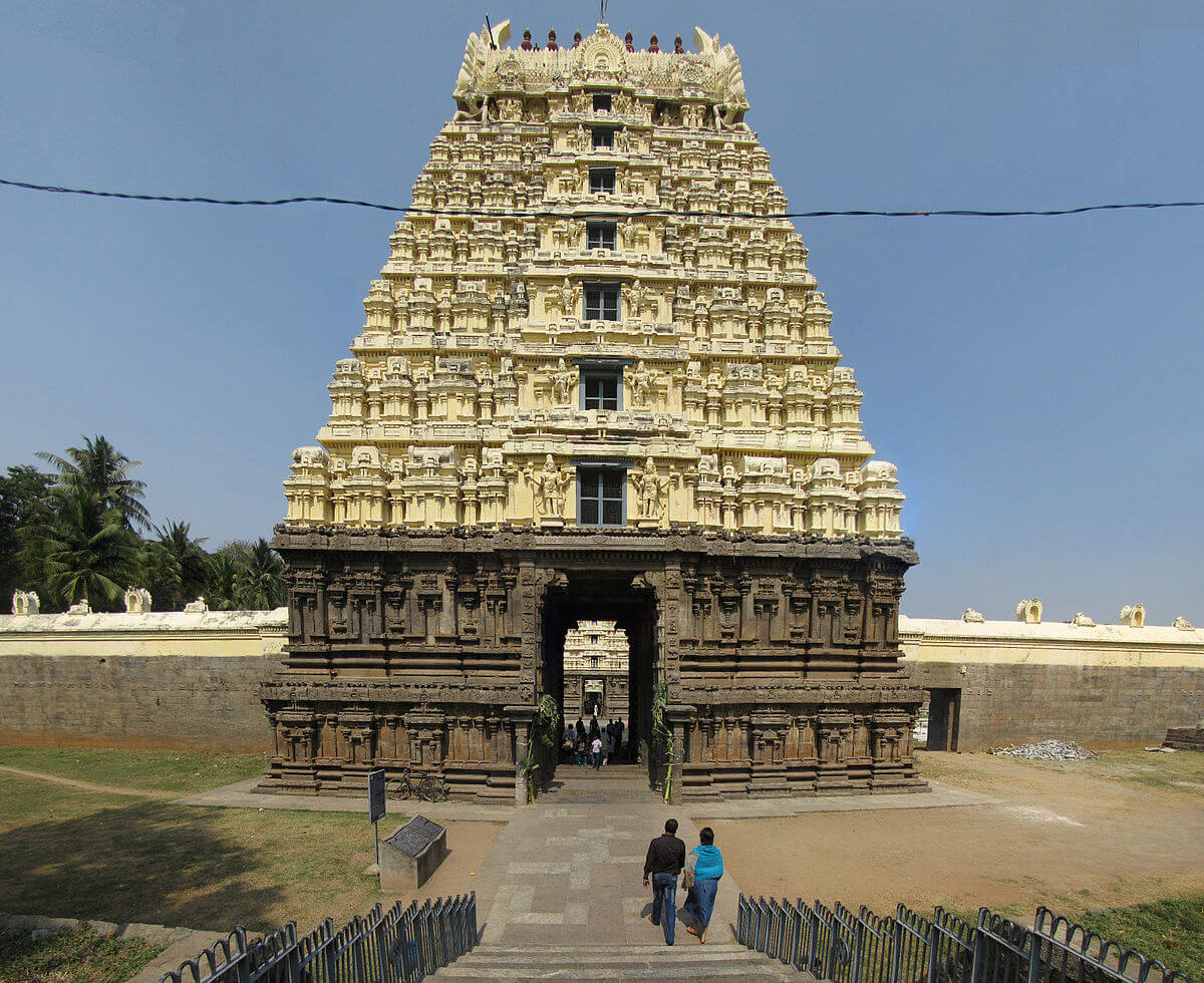 a south Indian temple