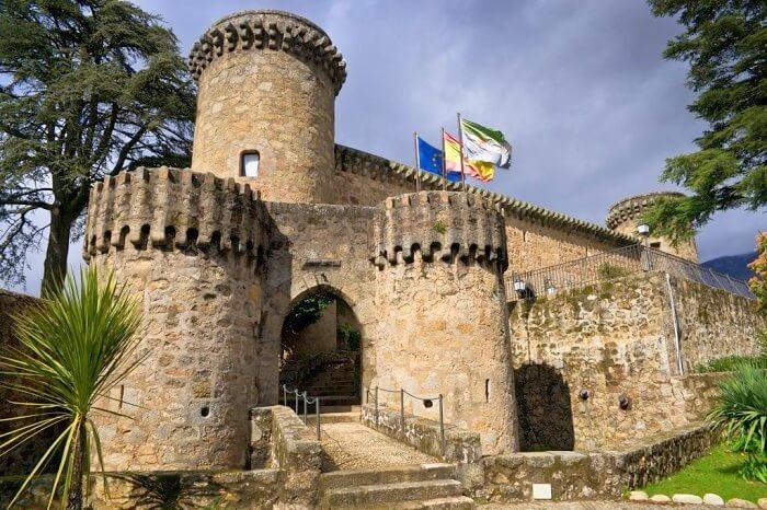 Jarandilla castle in spain