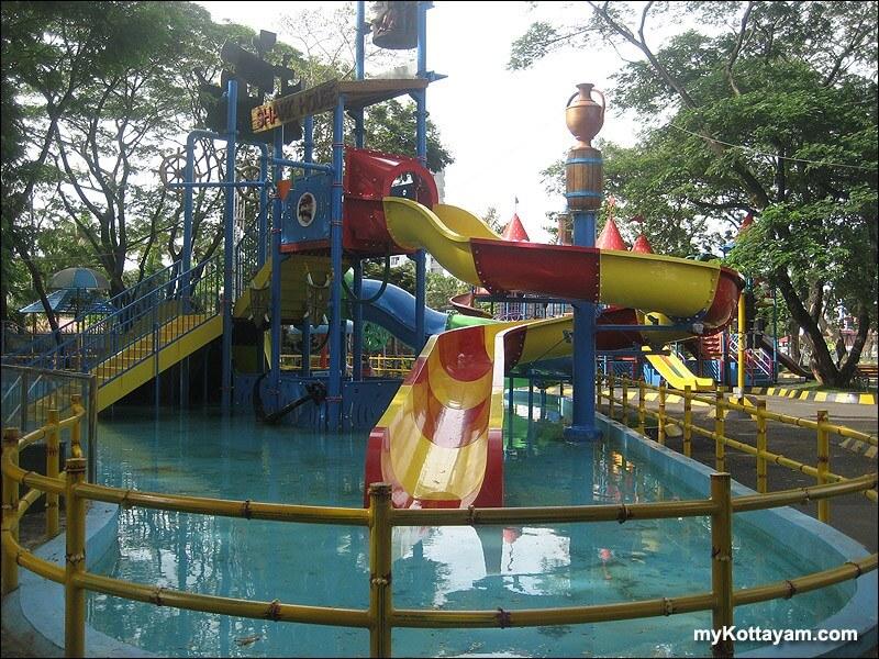 an amusement park in Kerala
