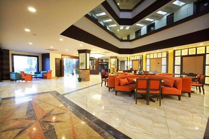 stay at Lemon Tree Hotel jammu