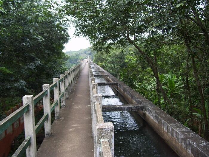 Mathur Aqueduct kanyakumari