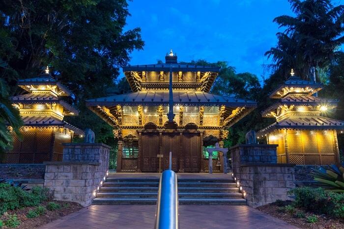 Nepal Peace Pagoda Brisbane