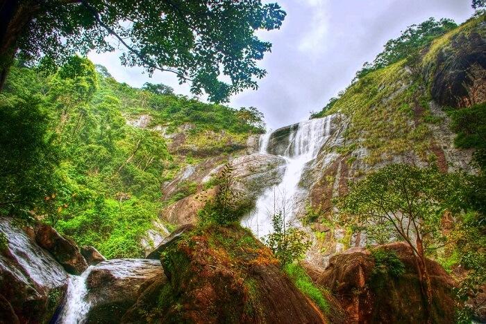 Palaruvi Waterfalls kanyakumari