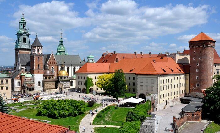 Royal Castle poland krakow