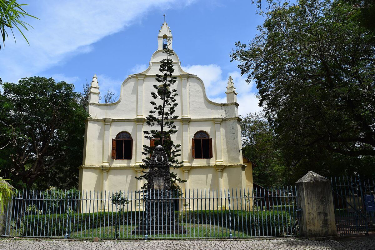 the beautiful building of St Francis Church