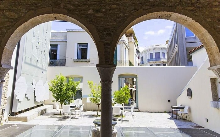 Take a tour of the oldest surviving residence in athens