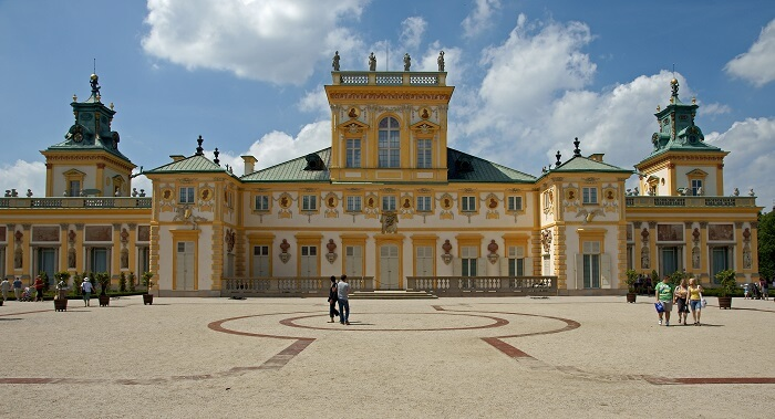 The Royal Palace poland