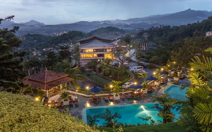 Tourmaline Hotel - Enjoy the stunning view of lakes and hills from the hotel