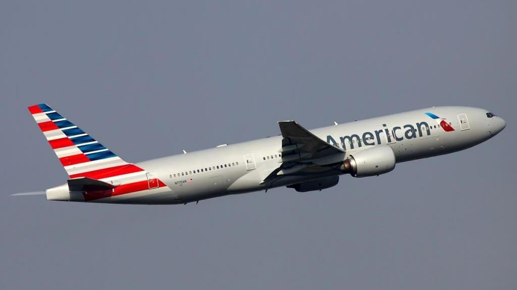 a flight of America