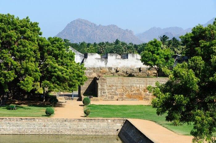 Vattakottai Fort kanyakumari