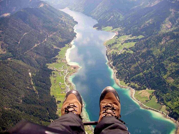 Weissensee lake austria