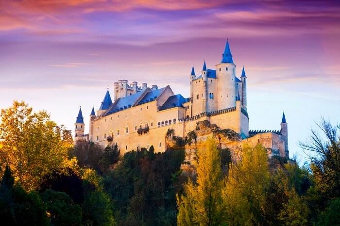 alcazar castle in spain