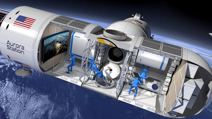 world's first luxury space hotel