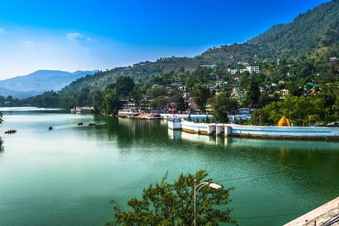 lake in bhimtal