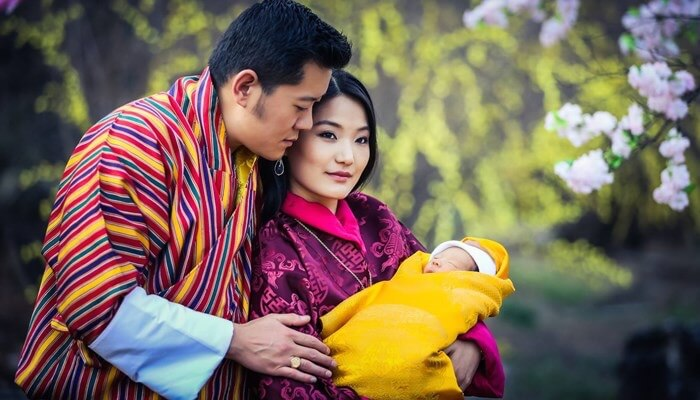royal family Bhutan