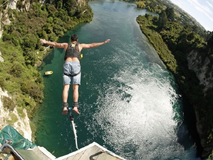 new zealand bungy jumping