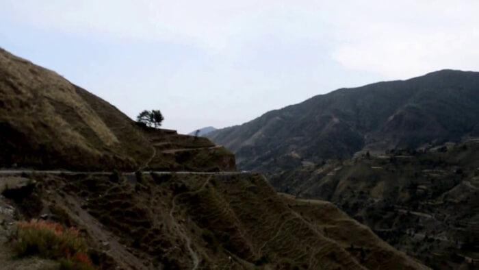 magnificient view of the peak