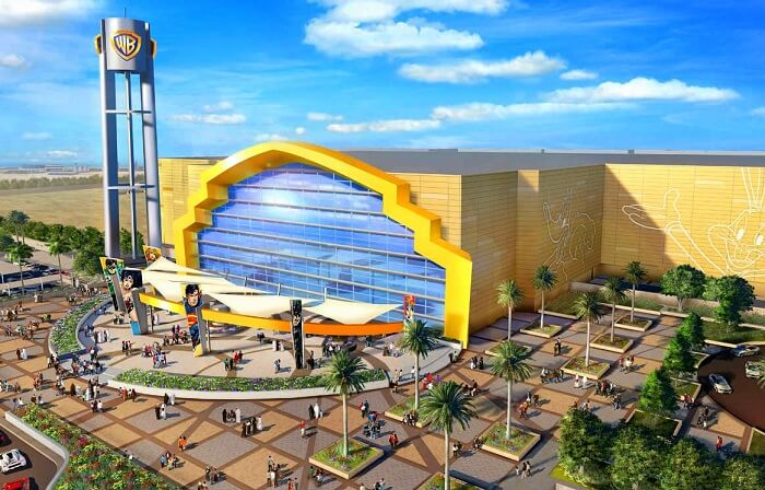 world's largest warner bros. park in abu dhabi