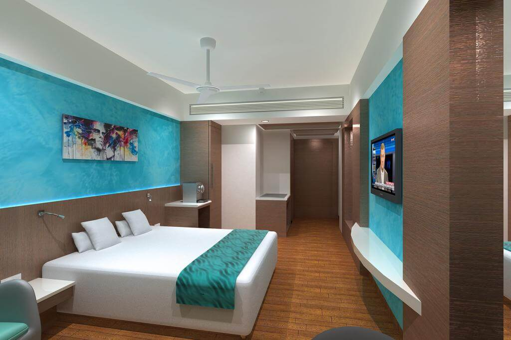 Interior of effotel hotel in indore
