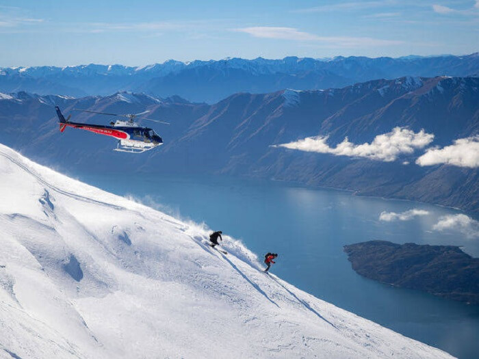 new zealand heli skiing
