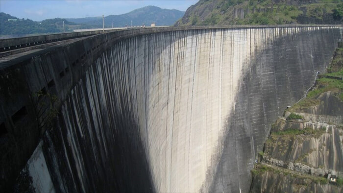 overview of dam