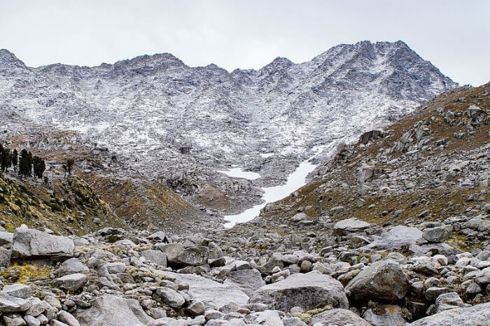 view of indrahar pass