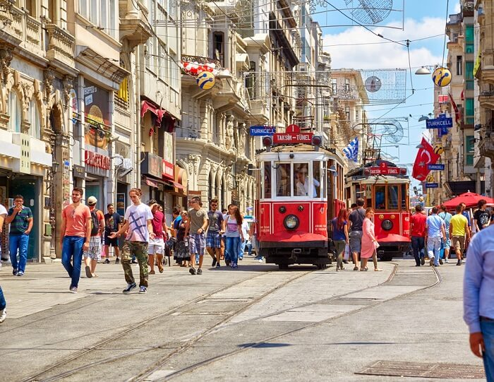 explore the istiklal avenue