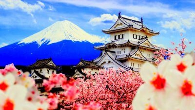 Spring Flower Cruise In Japan