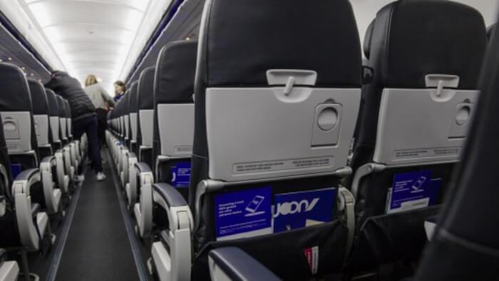 inside Joon airline