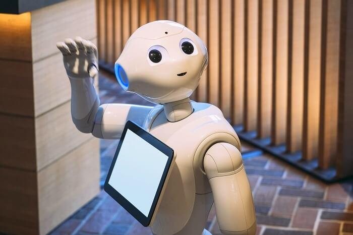 bengaluru airport robot