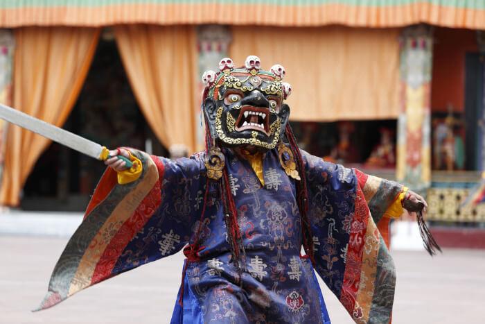 vibrant sikkimese culture