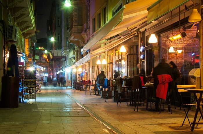 happening city with a vibrant nightlife