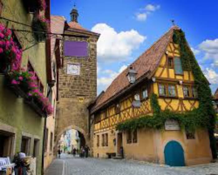 Rothenburg in Germany