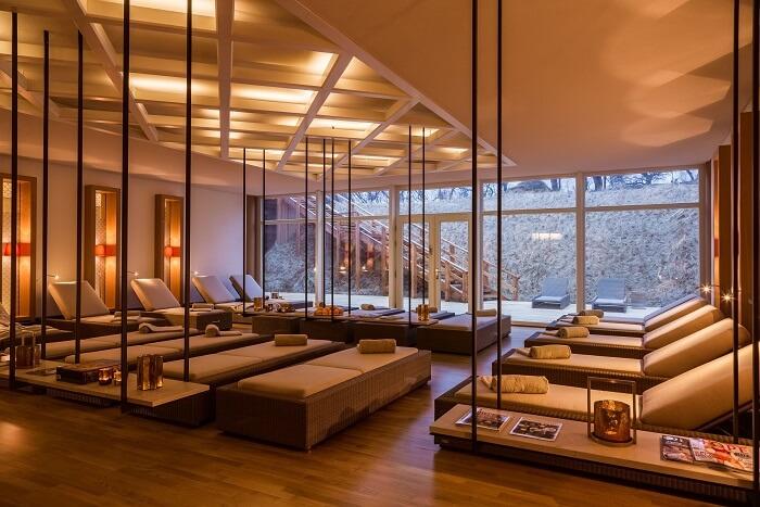 spa at Severin's Resort and Spa, Sylt germany