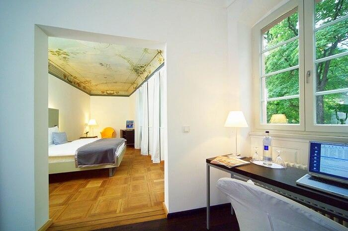 stay at Art Hotel, Heidelberg germany