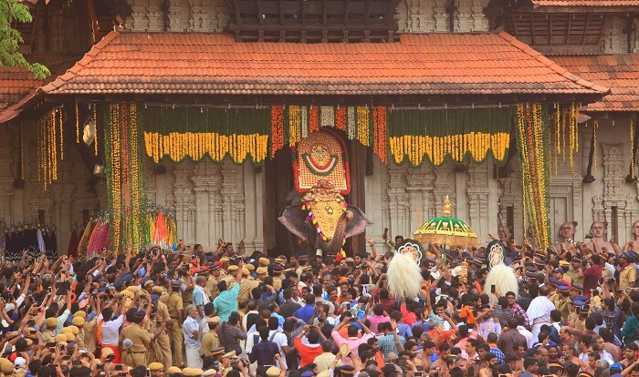 thrissur pooram temple cover image