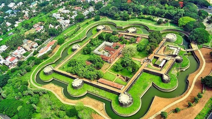 visit Palakkad Fort