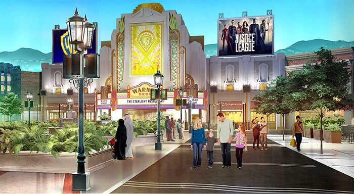 new warner bros. world theme park in abu dhabi