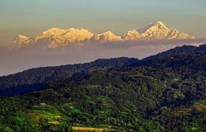 Mt. Kanchenjunga, Sikkim, India