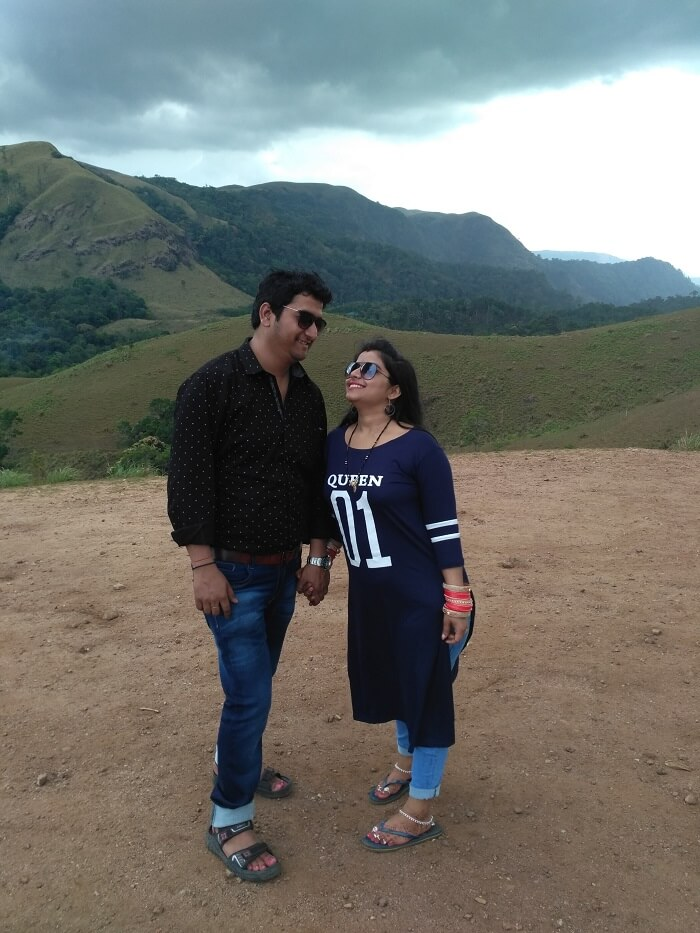 Couple in Thekkady