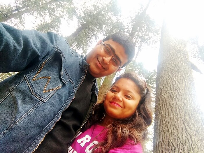 Couple at Himachal Pradesh