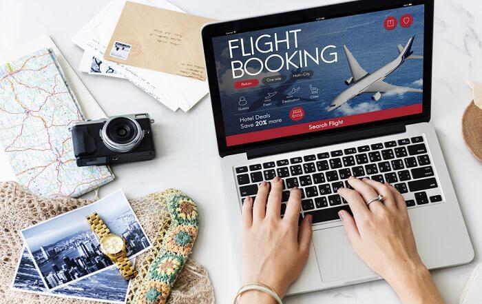 booking flight ticket