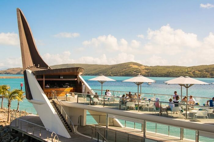 Bommie at Yacht Club, Hamilton Island, Australia
