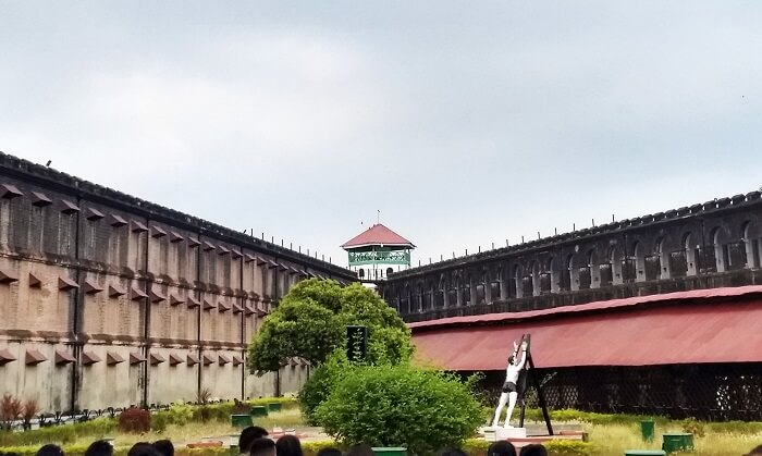 Outside view of Cellular Jail