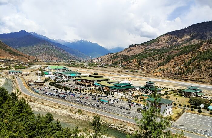 Views from Paro Airport